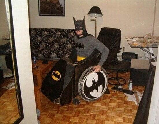 batman silla de ruedas