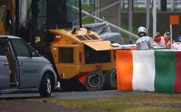 accidente Jules Bianchi 2014 f1