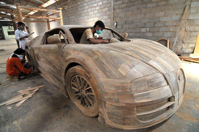 bugatti veyron de madera (1)