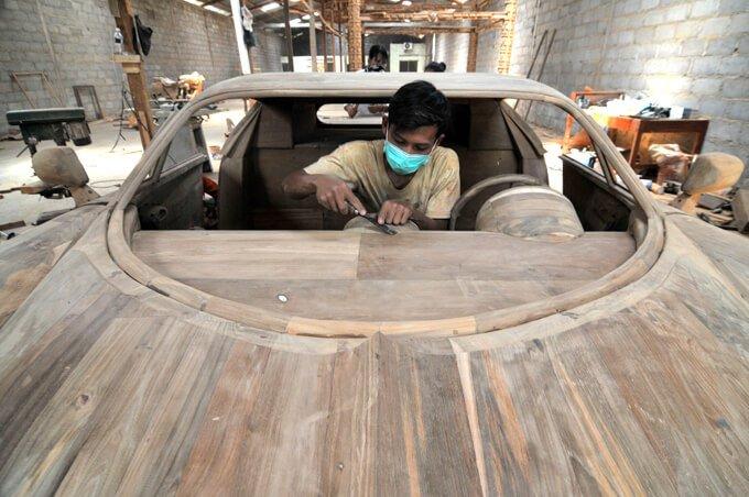 bugatti veyron artesanal