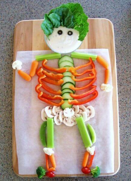halloween ensalada