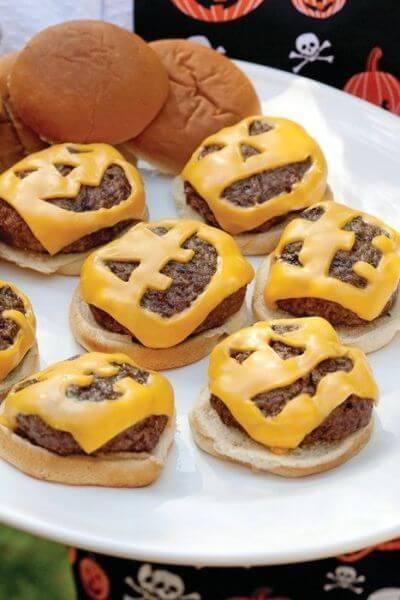 halloween hamburguesas