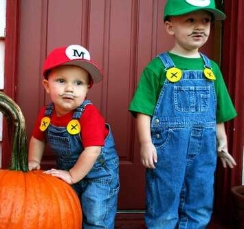 Disfraz de los hermanos bros para halloween