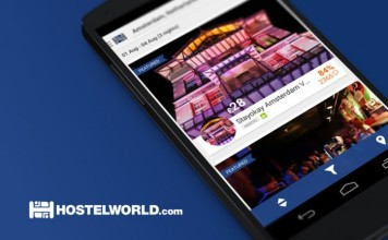 hostelworld android encontrar hoteles