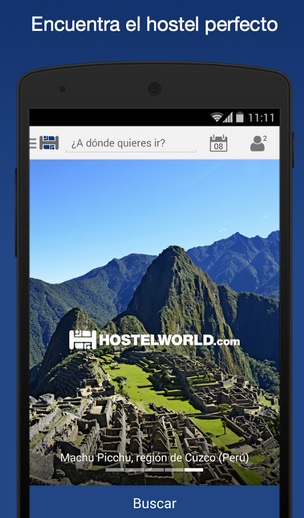 hostelworld android encuentra hoteles