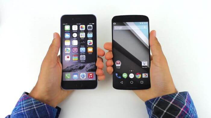 iphone 6 vs nexus 6