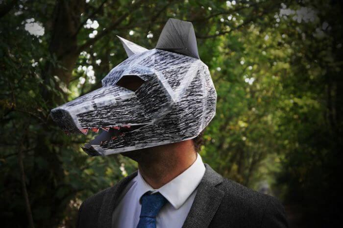 mascara wintercroft lobo halloween