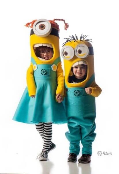 minions costume halloween