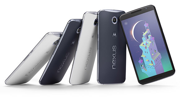 motorola nexus 6 screen 6 inch Android 5 lollipop