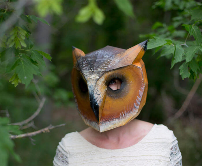 owl wintercroft mask halloween