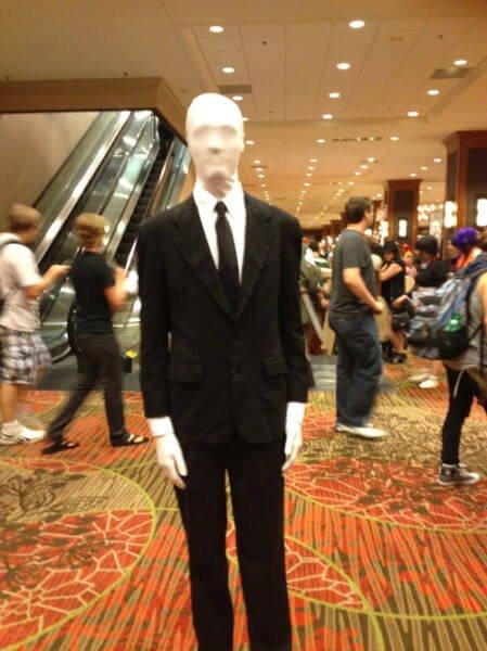 slender man disfraz halloween