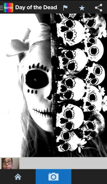 Day of the Dead Yourself app