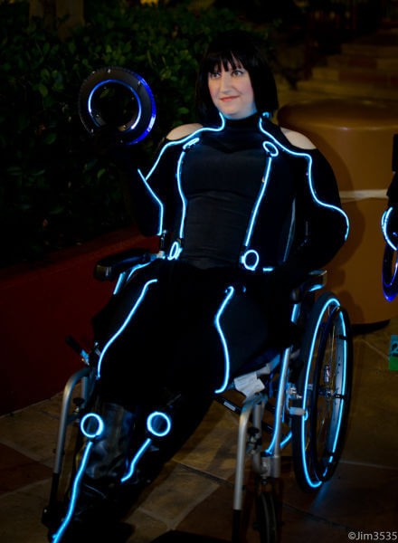 wheelchair costumes tron halloween