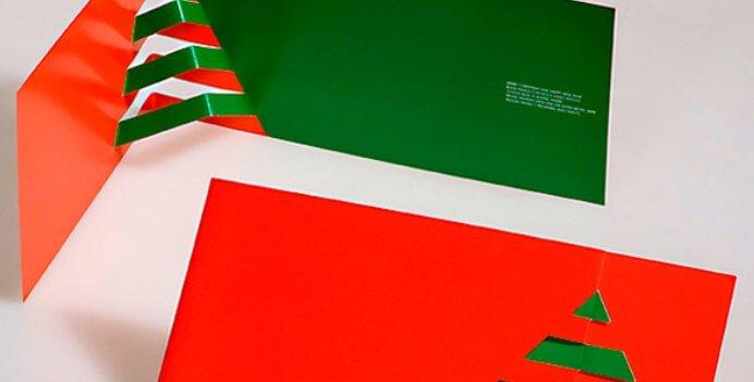 ideas decoracion tarjetas navideñas