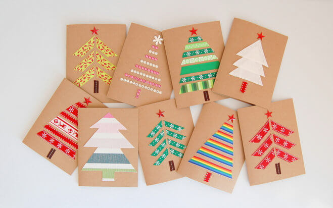 Christmas Card Design Ideas Ks2 : Tutorial c?mo decorar tarjetas navide?as diy neostuff