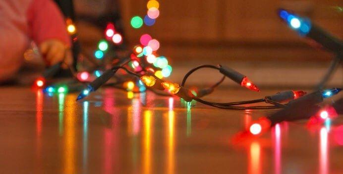 revisar que funcionen tus luces navideñas para navidad