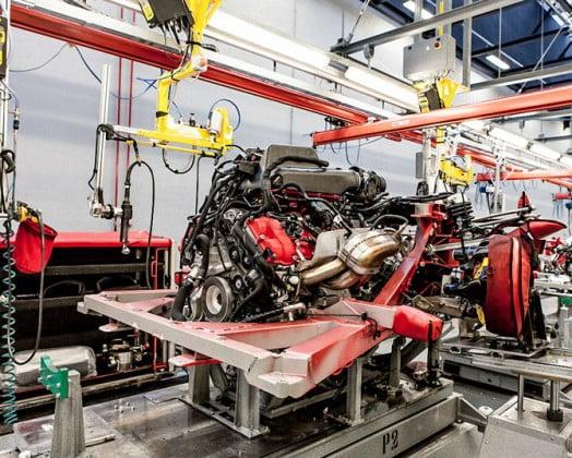 motor ferrari fabrica