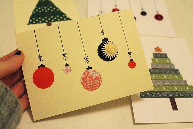 tarjetas de navidad originales