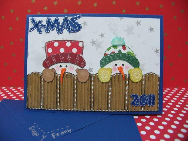 tarjetas navideñas diy