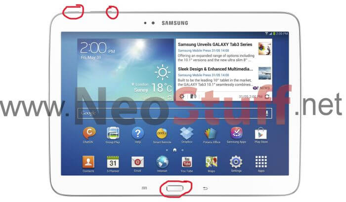 Modo download galaxy tablet