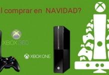 comprar Xbox one vs Xbox 360 para Navidad