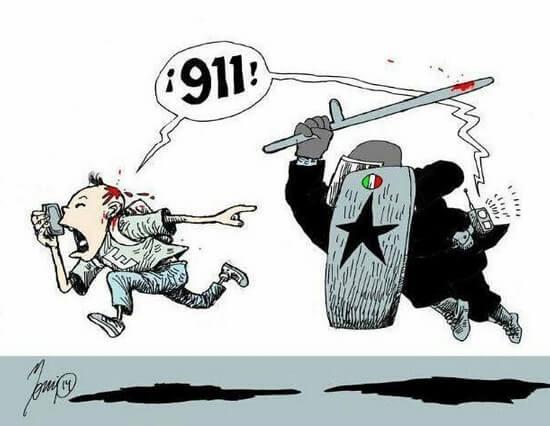número telefónico 911 en méxico policías y corrupción