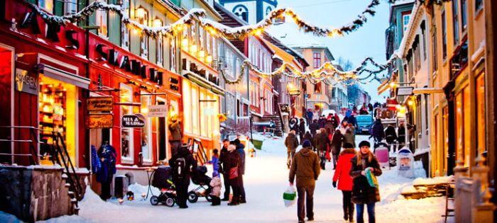 ¿Cómo se celebra la navidad en noruega?