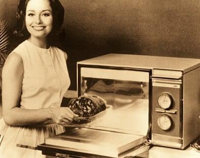microondas viejo 80s 90s