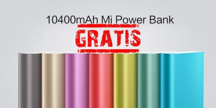 10400 xiaomi power bank free