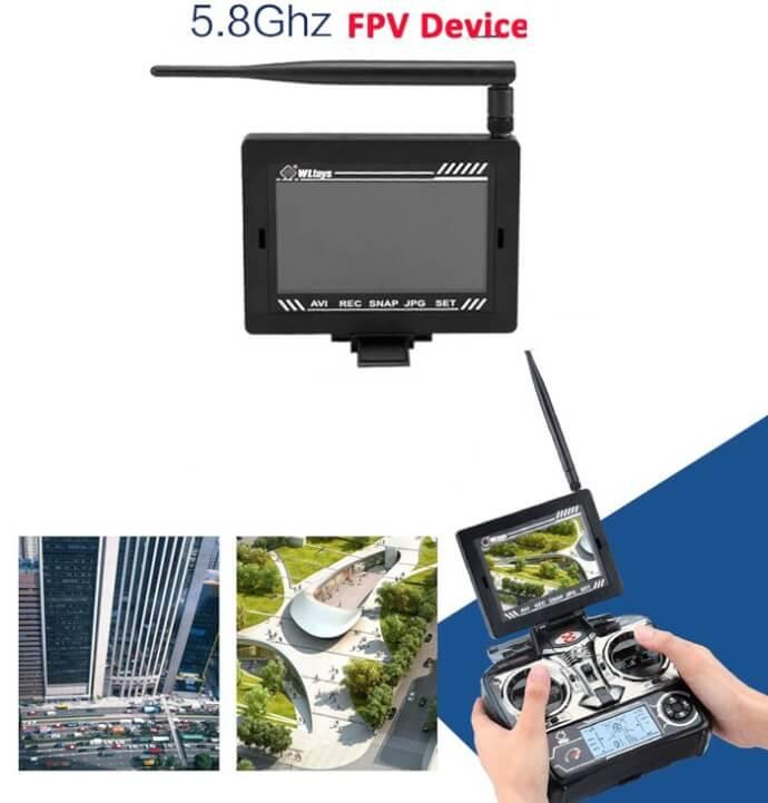 WLtoys V666 con video wifi