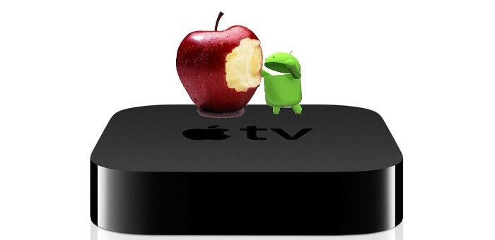 conectar android a apple tv