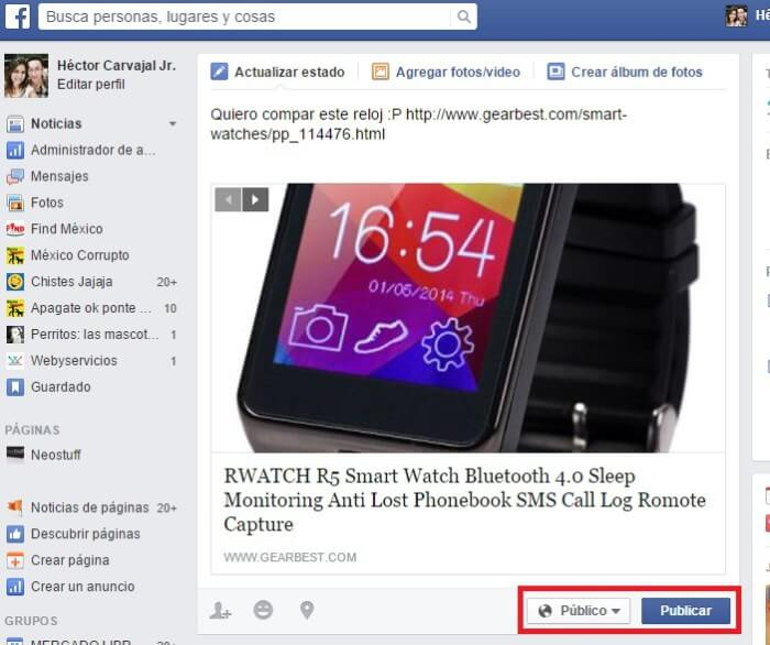 smart watch rwatch r5