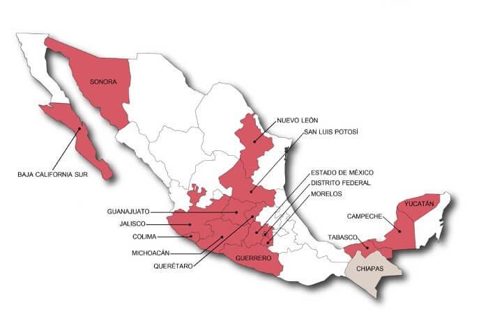 Elecciones Mapa