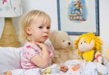 curar dolor de garganta en niños y bebés