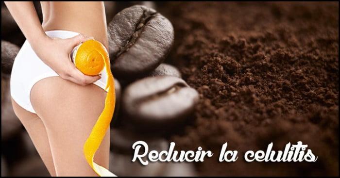 Como reducir la celulitis con Café