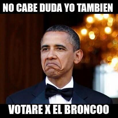 barack obama vota por bronco