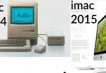 apple imac 1984 a 2015 retina 5k