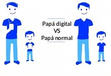papa digital vs un padre normal