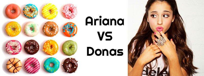 Ariana grande odia america y sus donas