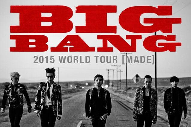 Boletos para Big Bang en México