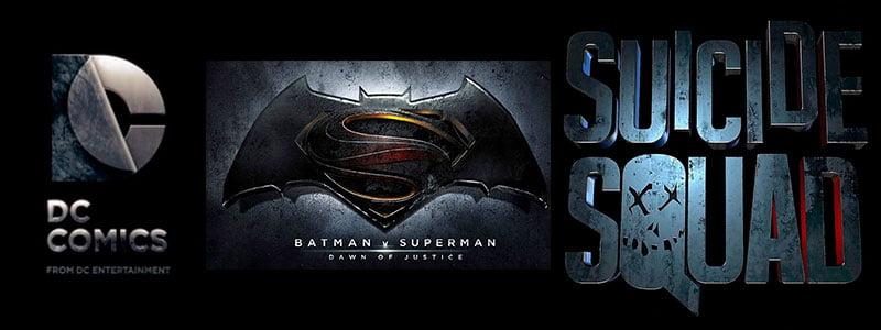 Nuevas películas Batman V Superman y Suicide SQUAD
