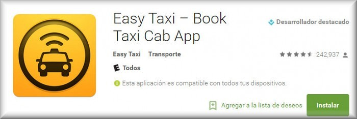 easy taxi descargar android