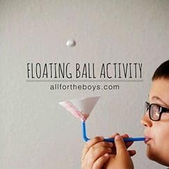 Cómo hacer una pelota flotante