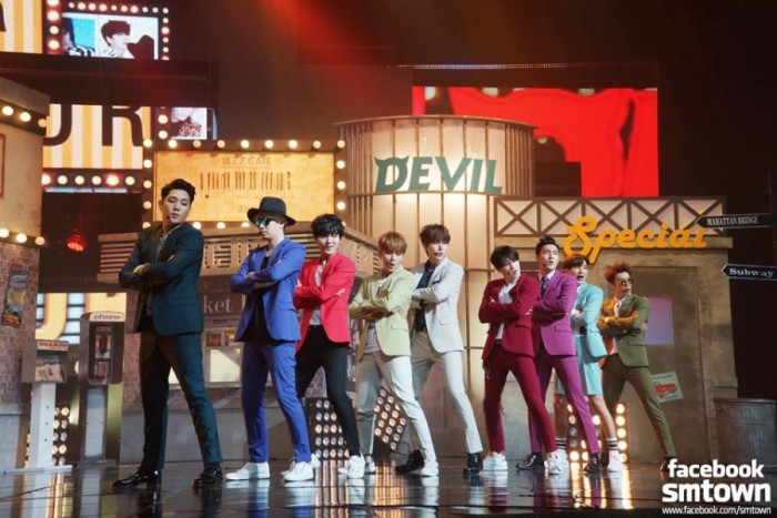 DEVIL super Junior escuchar en linea