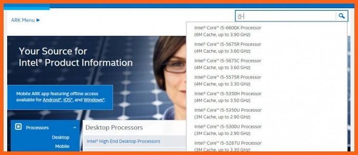 buscar procesadores intel en linea