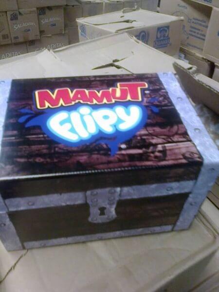 caja de mamut flipy