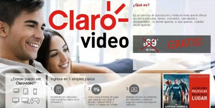 claro video gratis de telmex