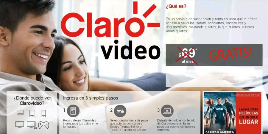 claro video gratis de telmex
