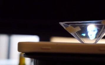 crear holograma 3d con smartphone