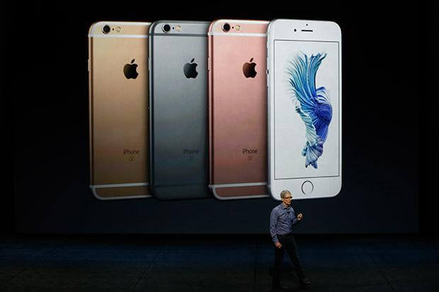Colores de iphone 6s